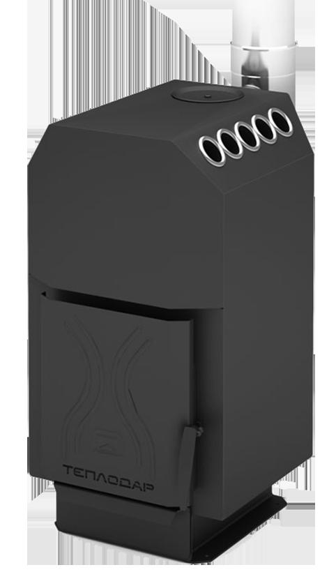 Отопительная печь Теплодар ТОП-140 стальная дверца