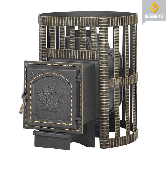 Банная чугунная печь Легенда Ковка 16 (271)