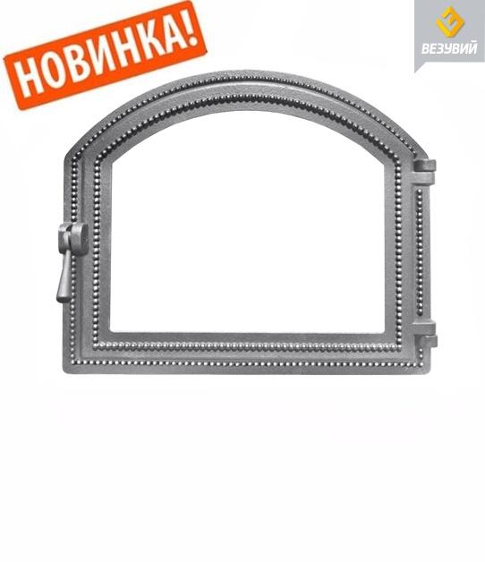 Дверь Везувий 217 стекло (бронза)
