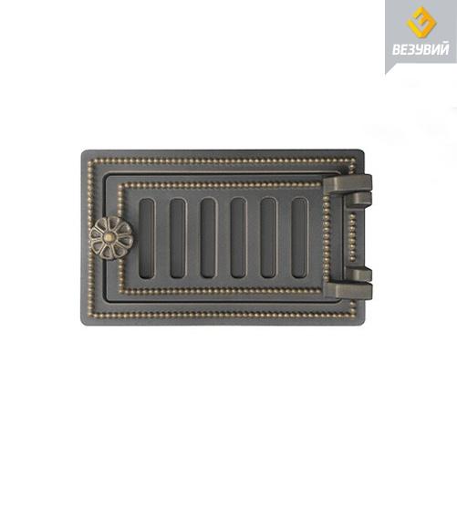 Дверка Везувий поддувальная ДП-2 (бронза)