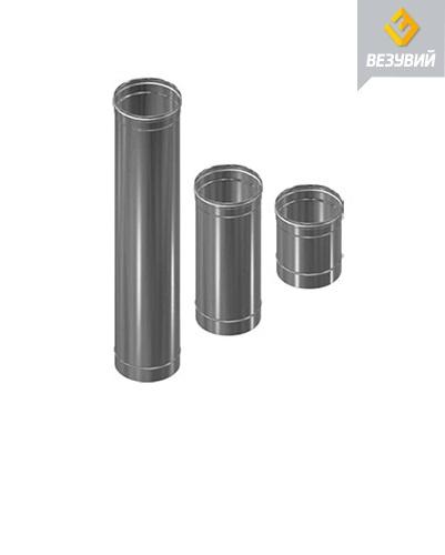 Труба одноконтурного дымохода толщиной 0,5 мм и 1 мм