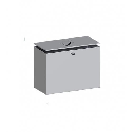 Бак из нержавейки под контур 110 литров (прямоугольный)